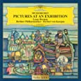 ムソルグスキー:展覧会の絵(ピアノ&オーケストラ版) ベルマン(ラザール) (演奏者)、ベルリン・フィルハーモニー管弦楽団、カラヤン(ヘルベルト・フォン)、ラヴェル他 (CD2006)