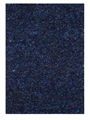 Loloi Rugs Hugo Recycled Sweater Wool Rug (Blue)
