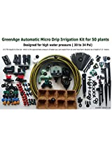 DRIP IRRIGATION AUTOMATIC WATERING KIT FOR 50 PLANTS(FOR HIGH PRESSURE)