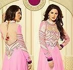 Nargis Fakhri Pink Anarkali Suit -TBSUGLO2605