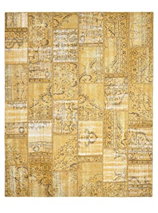 Tottenham Court Patchwork Hand Knotted Rug