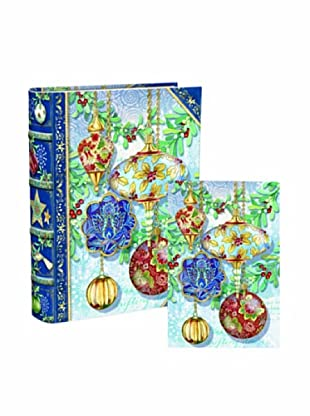 Punch Studio Bookbox Holiday Greeting Cards (Ornaments)