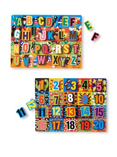 Melissa & Doug Large Chunky Puzzle Set