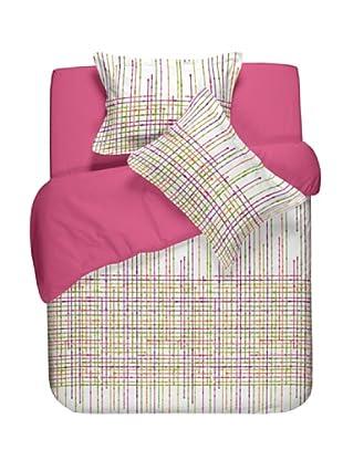 Casual Textil Funda Nórdica Network (Fucsia)