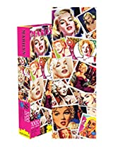 Aquarius Marilyn Stamps Slim Jigsaw Puzzle (1000-Piece)