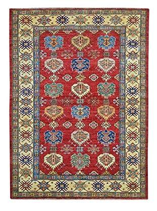 Kalaty One-of-a-Kind Kazak Rug, Red, 4' x 6' 1