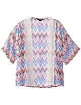 My Michelle Big Girls' Kimono Shrug