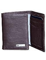 Tommy Hilfiger Brown Leather Men Wallet T057768