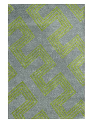 Shine by S.H.O. Maze Rug (Grass Green)