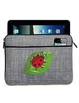 Ladybug IPAD SLEEVE Ladybug Design Tablet Case STYLISH PLAID