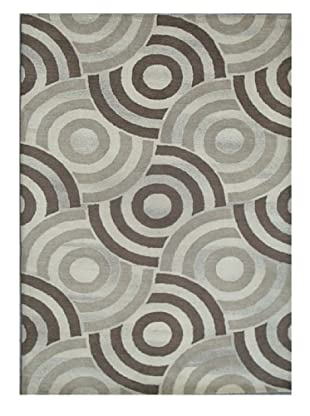 Mili Designs NYC Overlapping Circles Rug, 5' x 8'
