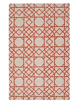 Surya Overlapping Shapes Rug (Sand Dollar)