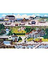 Buffalo Games Charles Wysocki: Cricket Hawk Harbor - 1000 Piece Jigsaw Puzzle by Buffalo Games