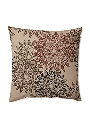 Zalva Masai Decorative Pillow (Cream/Mocha)