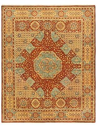 eCarpet Gallery Mamluk Rug, Dark Orange, 8' x 9'