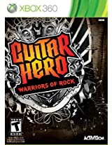 Guitar Hero: Warriors of Rock Stand-Alone Software (Xbox 360)