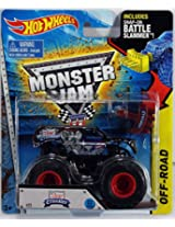 2015 Hot Wheels Monster Jam Lucas Oil Crusader #23 Includes Snap-On Battle Slammer
