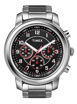 Timex T2N166. Reloj de Señora movimiento de cuarzo con brazalete metálico Negro