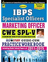 Ibps Specialist officers Marketing officer Cwe Spl IV Common Written Examination Self Study Guide: Cum Practice Work Book English