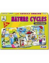 Frank Nature Cycle (A Set of 4 Puzzles)