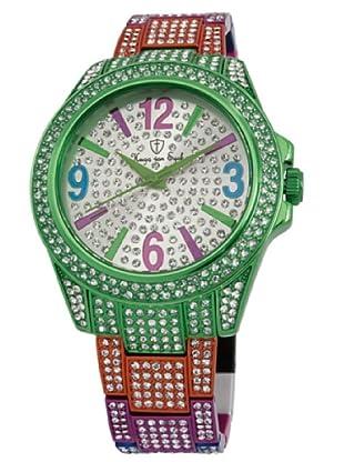 Hugo Von Eyck Reloj Amazing HE118-010B_Plata / Verde