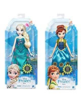 Disney Frozen Fever Anna & Elsa Doll Set