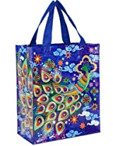 Blue Q Peacock Handy Tote