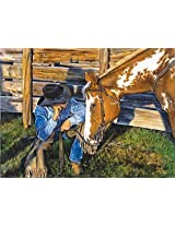Suns Out Between You, Me And The Fencepost Jigsaw Puzzle (1000 Piece) By Suns Out