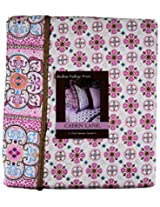 Caden Lane Modern Vintage Collection Bedding Full Duvet, Pink
