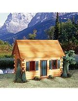 Quickbuild Kits Crocketts Cabin Dollhouse