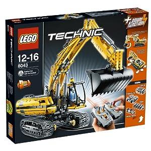 【クリックでお店のこの商品のページへ】レゴ テクニック ショベルカー 8043