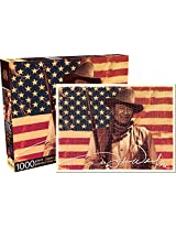 Aquarius John Wayne Flag Jigsaw Puzzle (1000-Piece)