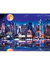 Buffalo Games Reflections: NYC Supermoon Jigsaw Bigjigs Puzzle (750 Piece)