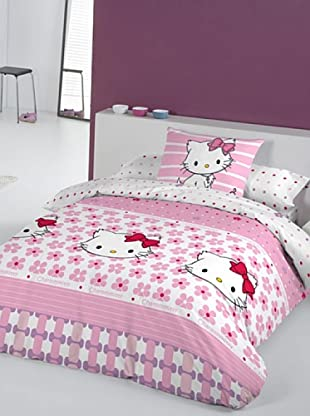 Euromoda Licencias Juego de Fundas Nórdicas Charmmy Kitty Miss Pink (Rosa / Rojo)