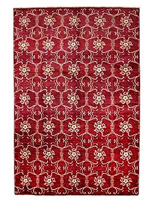 Darya Rugs Modern Oriental Rug, Red, 6' 7
