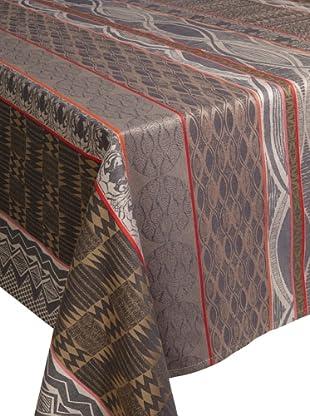 Garnier-Thiebaut Mille Totem Tablecloth (Palissandre)