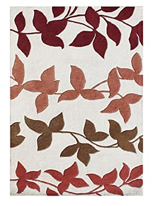 Alliyah Rugs Alliyah Collection (Ivory/Toffee/Red/Coral)