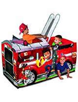Fire Truck Playhouse With Easy Set Up & Put Away With Ez Twist Technology