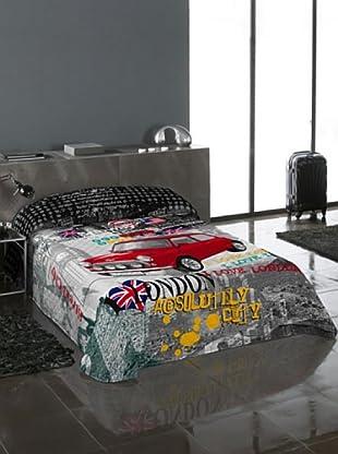 Euromoda Lencería Colcha Bouti Cooper (Multicolor)