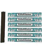 Potala Tibetan Kailash Incense Sticks (612 gm, Brown,) Pack of 6