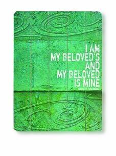 "Lisa Weedn for Artehouse Designs I Am My Beloved's, 20"" x 14"""