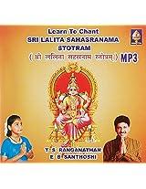 Learn to Chant Sri Lalitaa Sahasranaama Stotram