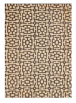 Mili Designs NYC Hatched Rug, 5' x 8'