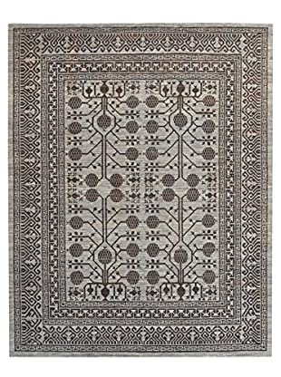 Kalaty One-of-a-Kind Pak Rug, Grey/Brown, 8' 2