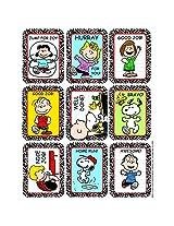 Eureka Stickers Peanuts Characters (Set Of 24)