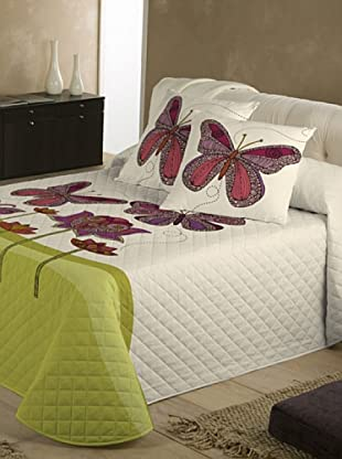 Valentina Colcha Bouti Butterfly (Beige)