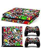 Golden Deal Ps4 Console And Dual Shock 4 Controller Skin Set Collage Brand Design Hoonigan Play Station 4 Vinyl
