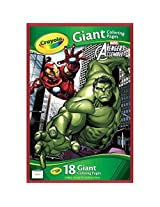 Avergers Assemble Giant Coloring Pages