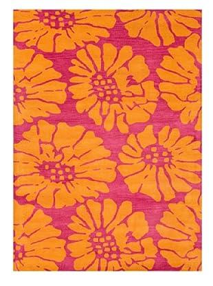 Jaipur Rugs Hand-Tufted Durable Rug (Pink/Orange)
