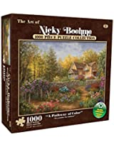 Karmin International Nicky Boehme A Pathway of Color Puzzle (1000-Piece)